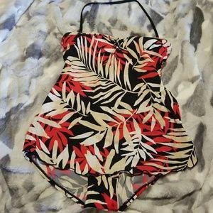 Jantzen One piece swimsuit - Tropical Print